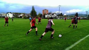 Spielszene Salzhaus F.C. - FF Winterthur